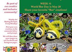 World Bee Day 2020 ValleyCAST Week 1 Weekly Art Prompt