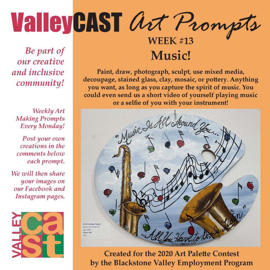 Music! ValleyCAST Art Prompt Week 13
