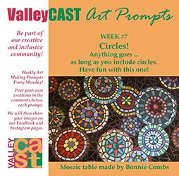 Circles! ValleyCAST Art Prompt Week 7
