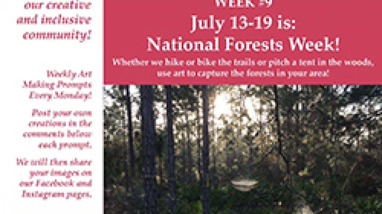 Forests! ValleyCAST Art Prompt Week 9