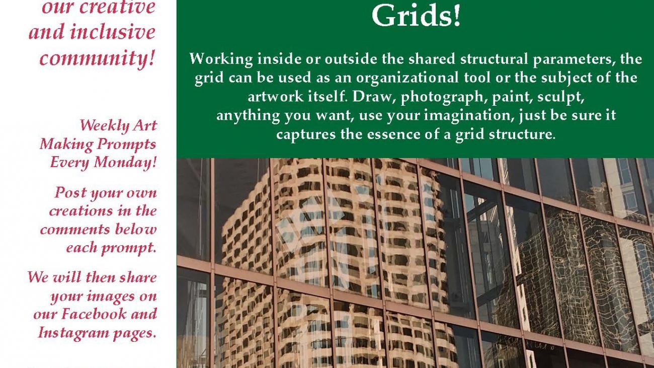 Grids! ValleyCAST Art Prompt Week 18