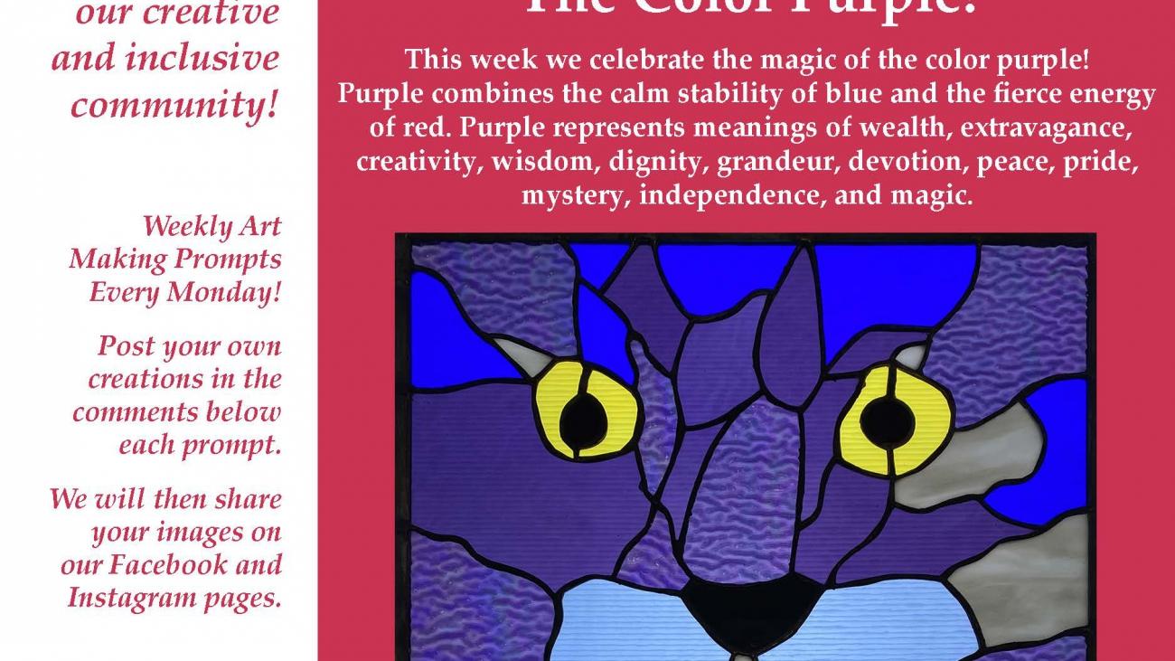 The Color Purple ValleyCAST Art Prompt Week 17