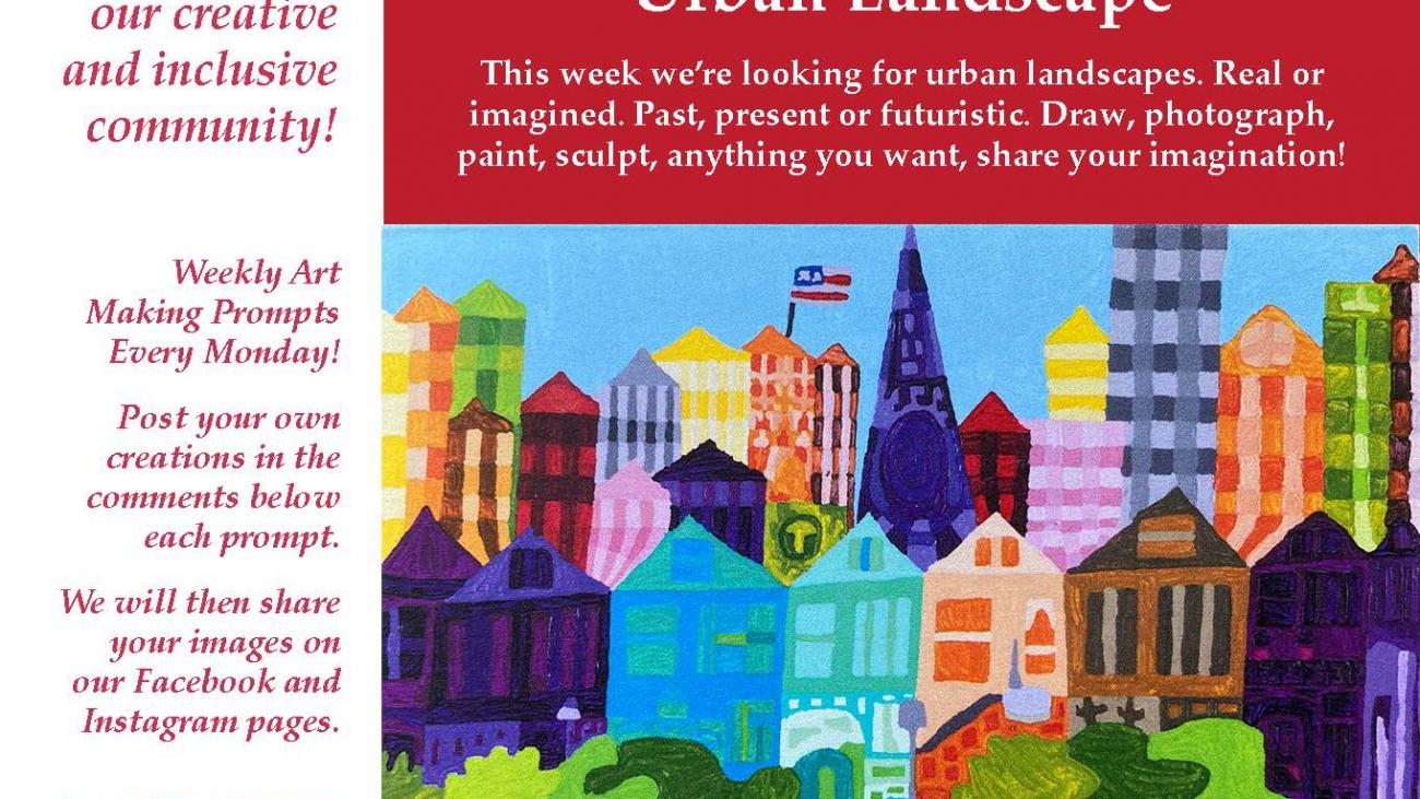 Urban Landscapes ValleyCAST Art Prompt week 16